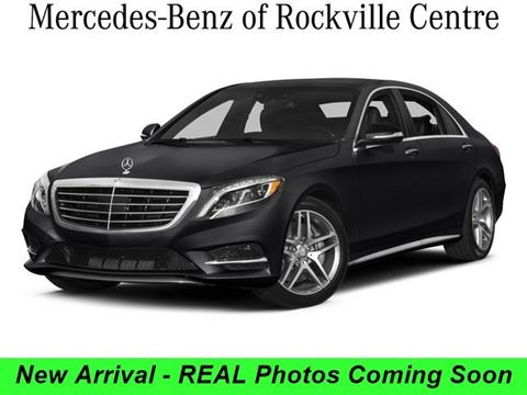 2015 Mercedes-Benz S-Class for sale in Rockville Centre NY