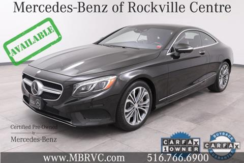 2016 Mercedes-Benz S-Class for sale in Rockville Centre, NY
