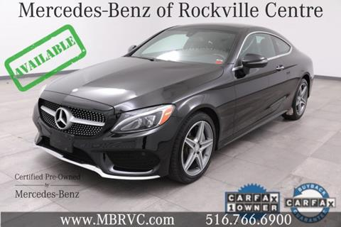 2017 Mercedes-Benz C-Class for sale in Rockville Centre, NY