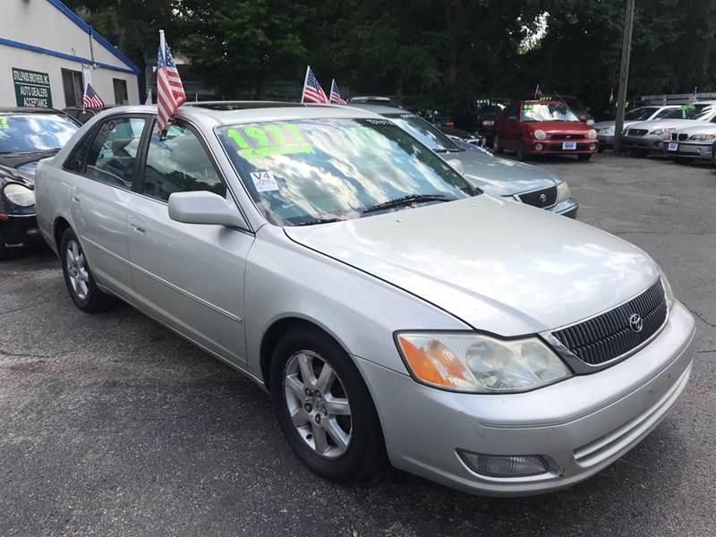 2000 Toyota Avalon For Sale At Klein On Vine In Cincinnati OH