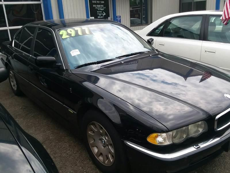 2001 BMW 7 Series For Sale At Klein On Vine In Cincinnati OH