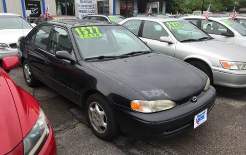 2001 Chevrolet Prizm for sale at Klein on Vine in Cincinnati OH