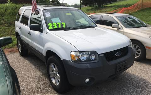 2007 Ford Escape for sale at Klein on Vine in Cincinnati OH