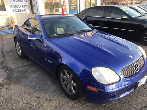 2002 Mercedes-Benz SLK for sale at Klein on Vine in Cincinnati OH