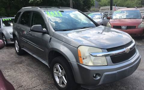 2005 Chevrolet Equinox for sale at Klein on Vine in Cincinnati OH