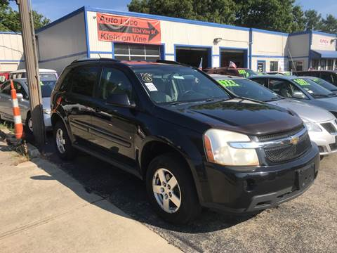 2008 Chevrolet Equinox for sale at Klein on Vine in Cincinnati OH