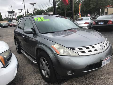 2005 Nissan Murano for sale at Klein on Vine in Cincinnati OH