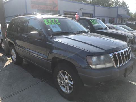 2002 Jeep Grand Cherokee for sale at Klein on Vine in Cincinnati OH