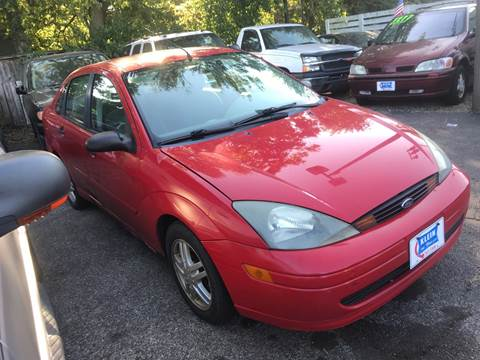 2004 Ford Focus for sale at Klein on Vine in Cincinnati OH