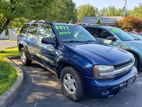 2003 Chevrolet TrailBlazer for sale at Klein on Vine in Cincinnati OH