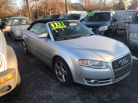 2007 Audi A4 for sale at Klein on Vine in Cincinnati OH