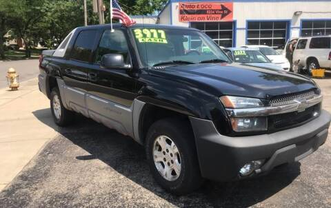 2002 Chevrolet Avalanche for sale at Klein on Vine in Cincinnati OH