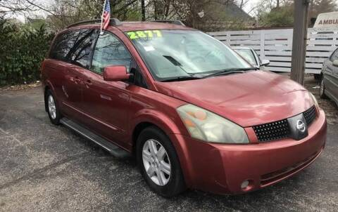 2004 Nissan Quest for sale at Klein on Vine in Cincinnati OH
