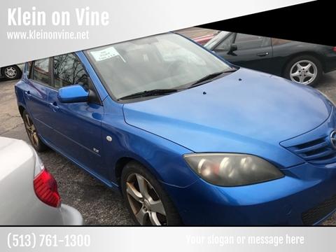 2004 Mazda MAZDA3 for sale at Klein on Vine in Cincinnati OH