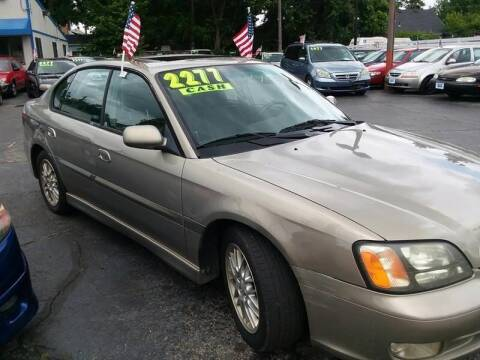 2001 Subaru Legacy for sale at Klein on Vine in Cincinnati OH