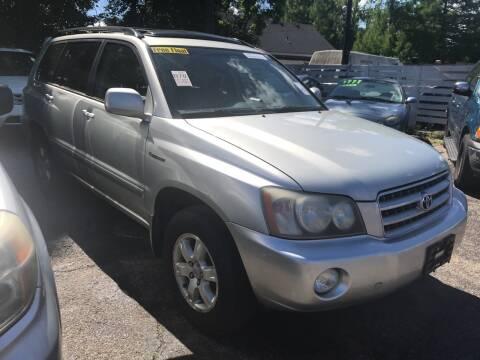 2003 Toyota Highlander for sale at Klein on Vine in Cincinnati OH