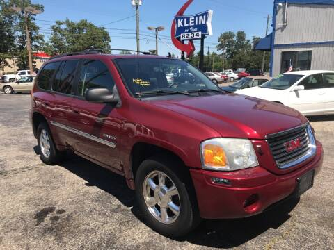 2006 GMC Envoy for sale at Klein on Vine in Cincinnati OH