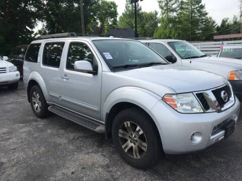 2010 Nissan Pathfinder for sale at Klein on Vine in Cincinnati OH