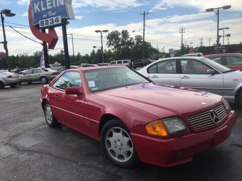 1994 Mercedes-Benz SL-Class for sale at Klein on Vine in Cincinnati OH