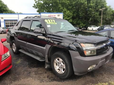 2003 Chevrolet Avalanche for sale at Klein on Vine in Cincinnati OH