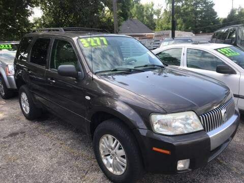 2007 Mercury Mariner for sale at Klein on Vine in Cincinnati OH