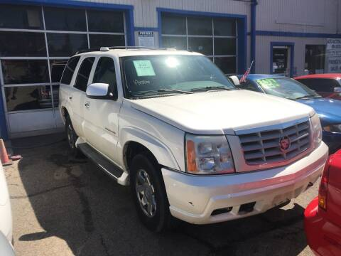 2006 Cadillac Escalade for sale at Klein on Vine in Cincinnati OH