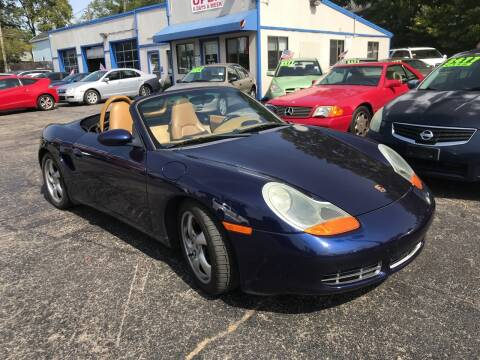 2002 Porsche Boxster for sale at Klein on Vine in Cincinnati OH