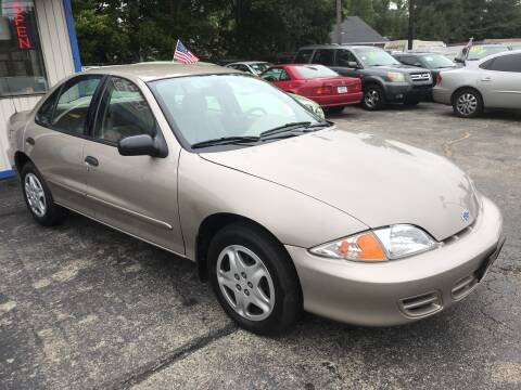 2001 Chevrolet Cavalier for sale at Klein on Vine in Cincinnati OH