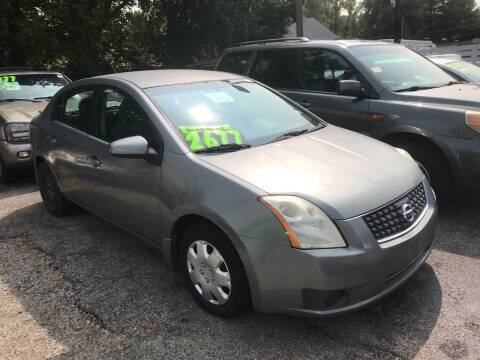 2007 Nissan Sentra for sale at Klein on Vine in Cincinnati OH