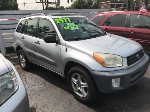 2001 Toyota RAV4 for sale at Klein on Vine in Cincinnati OH