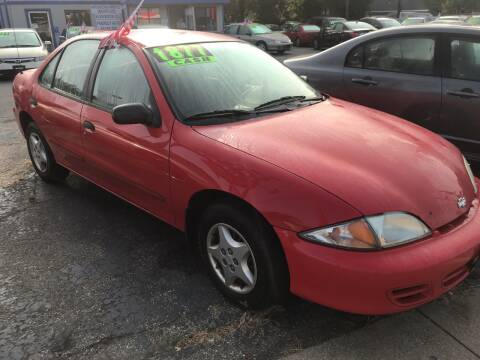 2002 Chevrolet Cavalier for sale at Klein on Vine in Cincinnati OH