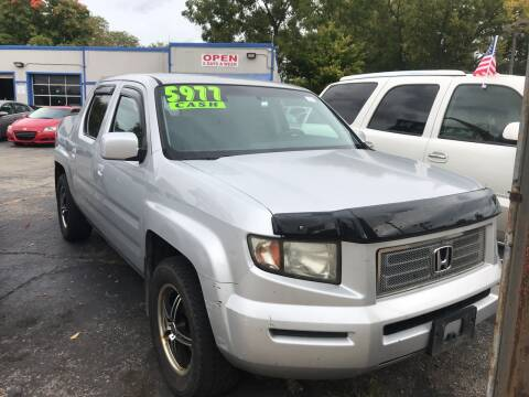 2008 Honda Ridgeline for sale at Klein on Vine in Cincinnati OH