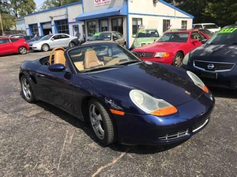 2002 Porsche Boxster for sale at Klein on Vine in Cincinnati OH