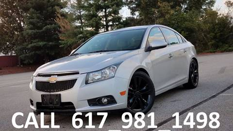 2013 Chevrolet Cruze for sale in Acton, MA