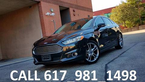 2013 Ford Fusion for sale in Acton, MA