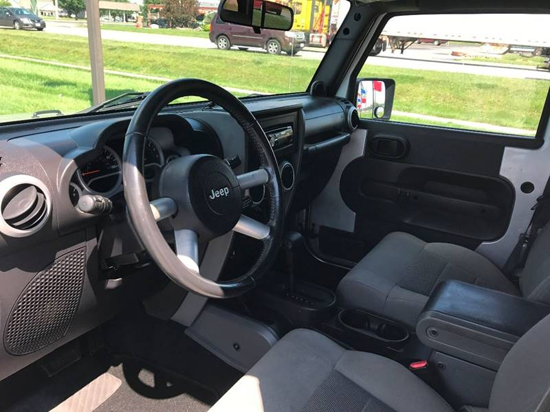 2008 Jeep Wrangler Unlimited 4x4 Sahara 4dr SUV w/Side Airbag Package - Norwalk OH