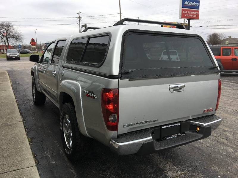 2010 GMC Canyon 4x4 SLE-1 4dr Crew Cab - Norwalk OH