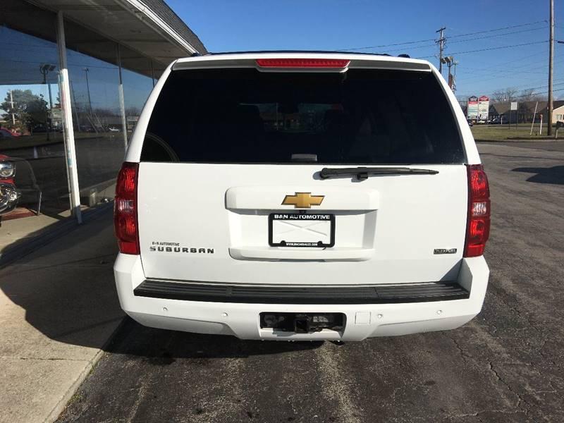 2008 Chevrolet Suburban 4x4 LTZ 1500 4dr SUV - Norwalk OH