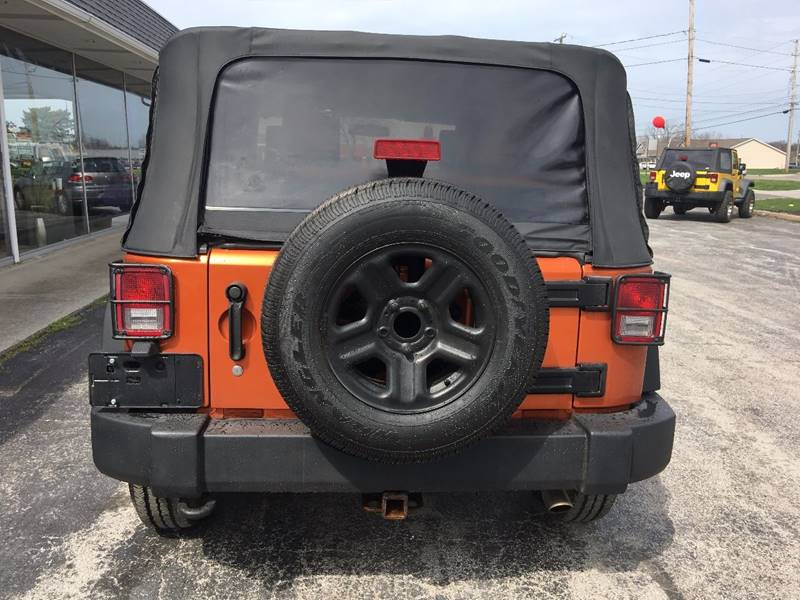 2010 Jeep Wrangler 4x4 Sport 2dr SUV - Norwalk OH