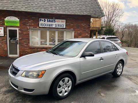 2007 Hyundai Sonata for sale at P&D Sales in Rockaway NJ