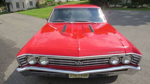 1967 Chevrolet Chevelle for sale at P&D Sales in Rockaway NJ