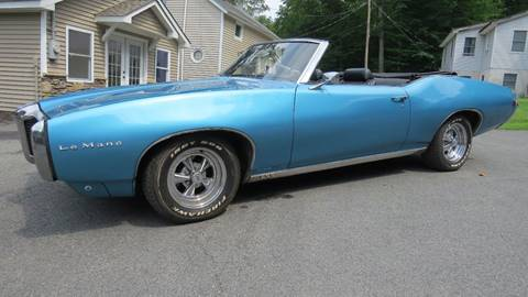 1969 Pontiac Le Mans for sale at P&D Sales in Rockaway NJ