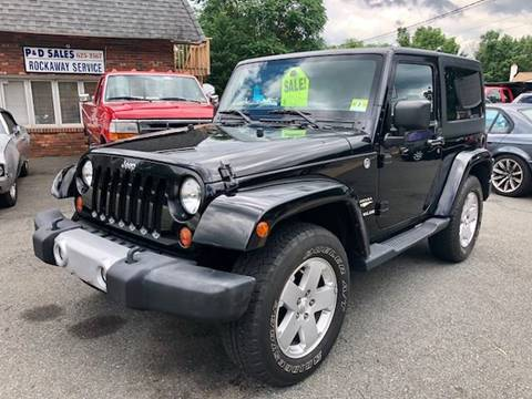 2011 Jeep Wrangler for sale at P&D Sales in Rockaway NJ