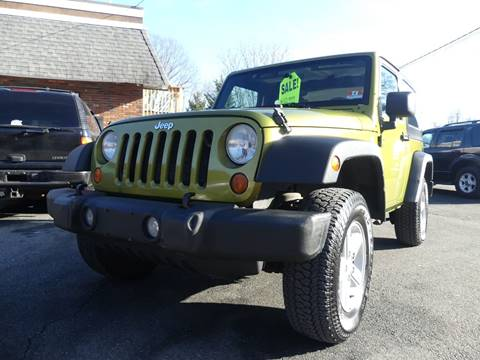 2007 Jeep Wrangler for sale at P&D Sales in Rockaway NJ