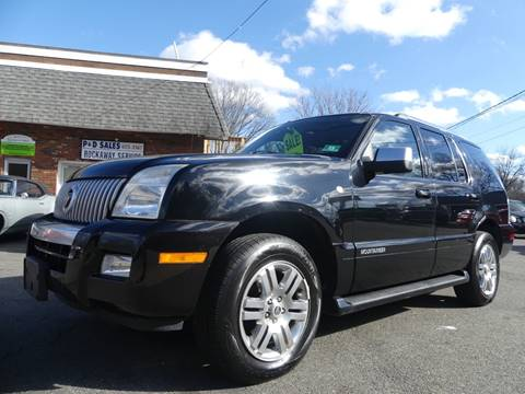 2007 Mercury Mountaineer for sale at P&D Sales in Rockaway NJ