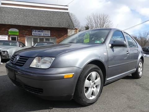 2003 Volkswagen Jetta for sale at P&D Sales in Rockaway NJ