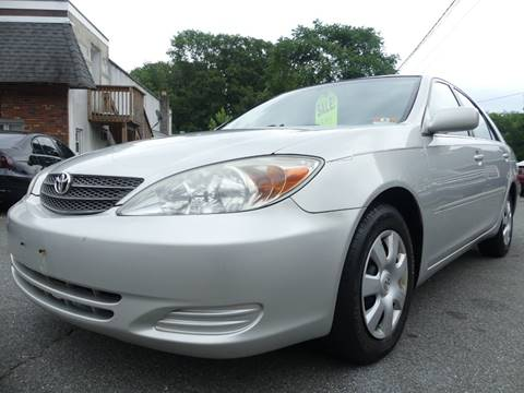 2002 Toyota Camry for sale at P&D Sales in Rockaway NJ