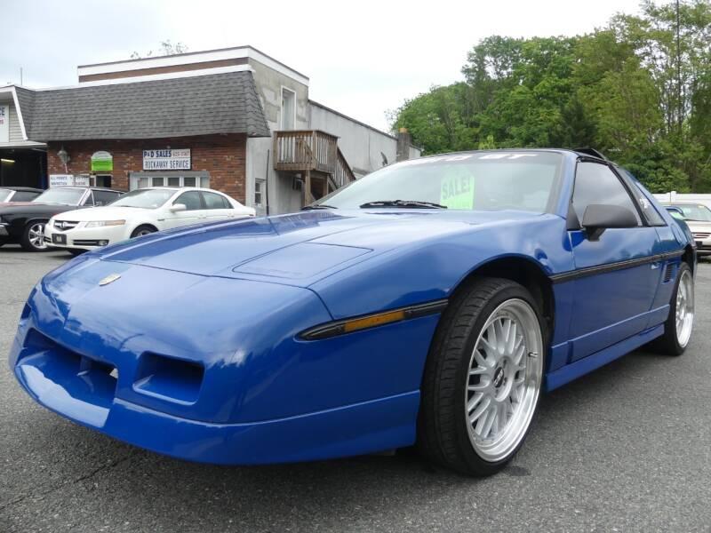 1985 Pontiac Fiero for sale at P&D Sales in Rockaway NJ