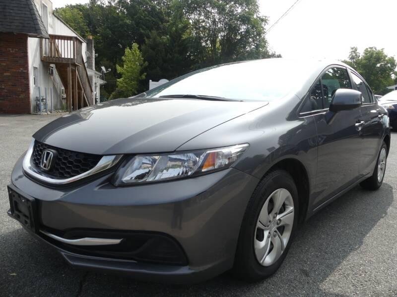 2013 Honda Civic for sale at P&D Sales in Rockaway NJ