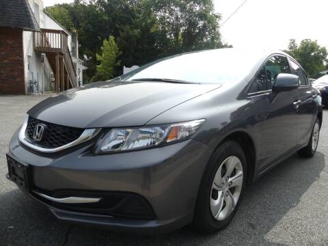 2013 Honda Civic for sale at P&D Sales in Rockaway NJ